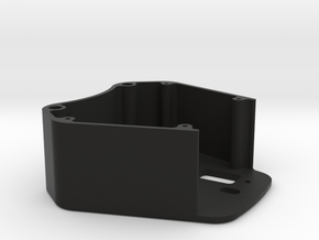 WRC Paddle Switch Enclosure in Black Natural Versatile Plastic