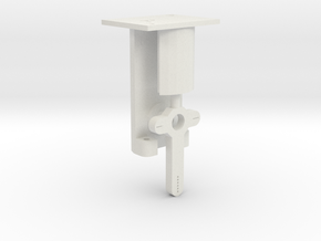 Signal Mech - 1 Arm in White Natural Versatile Plastic