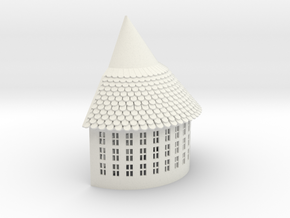 Tower Sample  1 in White Natural Versatile Plastic