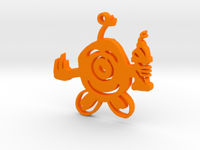 Sem's Bomberman in Orange Processed Versatile Plastic
