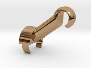 DJI Phantom 2 Gimbal holder in Polished Brass