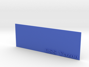 Base for 1/600 CSS Yazoo in Blue Processed Versatile Plastic