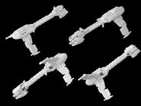 (Armada) Modified Nebulon B2 Frigate in White Strong & Flexible