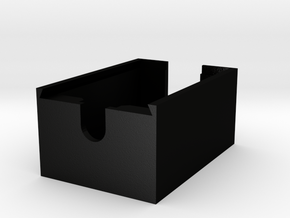 xBee Enclosure Case for Parallax xBee USB Adapter  in Matte Black Steel