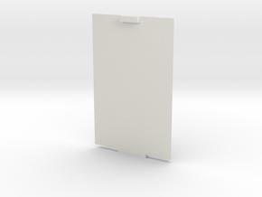 Lid for xBee Enclosure Case in White Natural Versatile Plastic