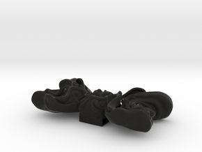 Papillon Man 2 in Black Natural Versatile Plastic