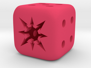 Chaos Dice in Pink Strong & Flexible Polished