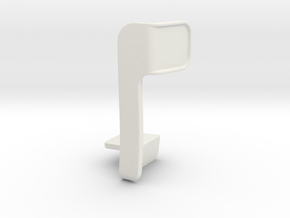 Phone bracket in White Strong & Flexible