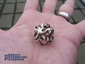 Expanding Starz Pendant - 26mm in Raw Bronze
