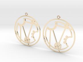 Nerissa - Earrings - Series 1 in 14K Yellow Gold