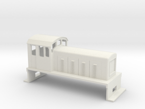 DS Locomotive, New Zealand, (OO Scale, 1:76) in White Natural Versatile Plastic