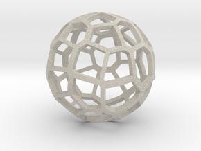 Voronoi sphere 2 in Natural Sandstone