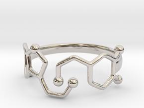 Dopamine Serotonin Molecule Ring Size10 in Platinum