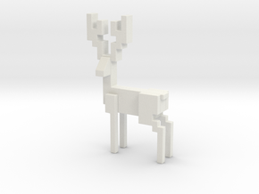 Deer 2 in White Strong & Flexible