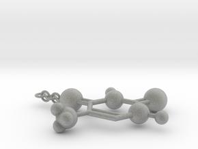 Thymine(ring added) in Metallic Plastic