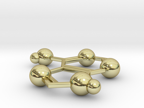 Adenine in 18k Gold