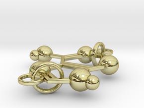 Adenine(double Ring) in 18k Gold