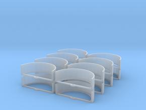 1/87 HO Kotflügel für Großflächenstreuer in Smooth Fine Detail Plastic