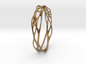 Incredible Minimalist Bracelet #coolest (S or M/L) in Natural Brass: Small