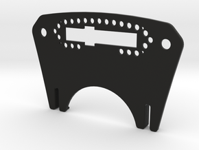Pro-Race Mounting Plate for-Accuforce Sim Wheel in Black Natural Versatile Plastic