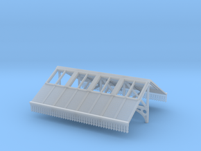 Platform Canopy Section 2 - N Scale in Smooth Fine Detail Plastic