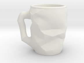 Innovative Coffee Cup in White Strong & Flexible