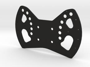 Red Bull F1 Wheel Plate in Black Natural Versatile Plastic