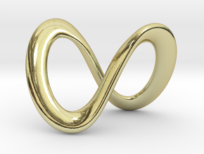 Endless-Infinite Symbol in 18k Gold Plated