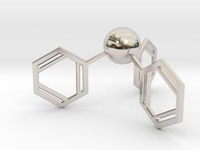 Triphenylphosphine in Rhodium Plated Brass