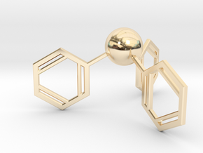 Triphenylphosphine in 14K Yellow Gold