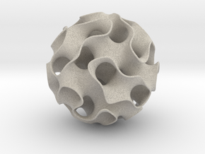 Gyroid Purple (Exhibit Size) in Sandstone