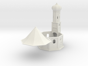 Small chapel 1:220-Bayerische Kapelle St.Salvator in White Natural Versatile Plastic