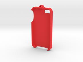 iPhone 4 - LoopCase in Red Processed Versatile Plastic