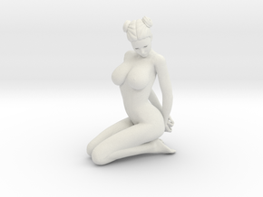 Kneeling nude girls scale 1/16 Passed in White Strong & Flexible