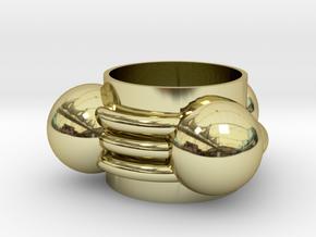 hydrogen cyanide Ring(13mm) in 18k Gold