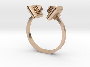 Cushion Ring - Sz. 10 in 14k Rose Gold
