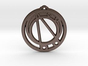 Capricorn in Matte Bronze Steel