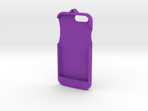 iPhone 6 - LoopCase w FlexFace Button in Purple Strong & Flexible Polished