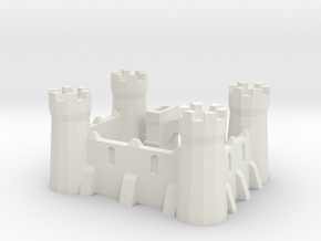 Signature castle in White Natural Versatile Plastic
