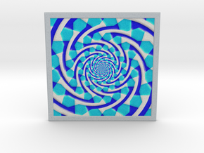 0179 Optical Illusion picture B (15cm) #005 in Full Color Sandstone