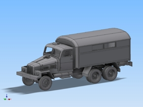 LKW IFA G5 Kofferaufbau Spur N 1:160 in Smooth Fine Detail Plastic