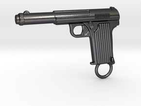 Astra gun in Polished and Bronzed Black Steel