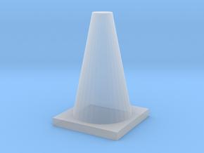 TrafficConeShapeways in Smooth Fine Detail Plastic