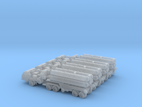 S-400 Battery with Transport 6mm in Smooth Fine Detail Plastic