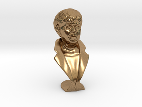Angela Merkel in Natural Brass