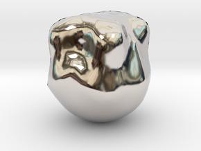 10249 in Rhodium Plated Brass