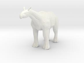 Paraceratherium 1 40(MEST 2015) in White Natural Versatile Plastic