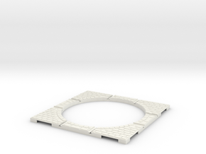 T-32-wagon-turntable-84d-100-corners-large-1a in White Natural Versatile Plastic