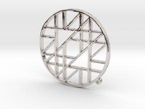 50mm-adjacent-int-1a.stl in Platinum