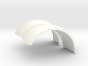 Pete Fenders in White Strong & Flexible Polished